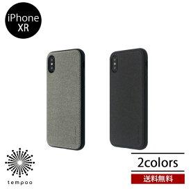 送料無料 メール便 iPhoneXR BELEX OCCA Y EMPIRE アイフォン ソフト クリア ケース カバー ファブリック 素材 スマホケース シンプル ブランド 人気 おしゃれ レディース メンズ 大人 女子 tempoo