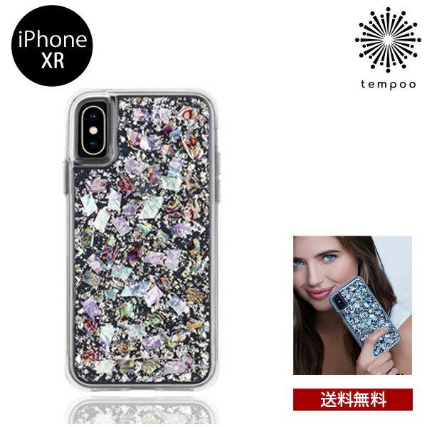 送料無料 メール便 iPhoneXR iPhone XR Case-mate Karat- Pearl 6.1インチ CM037788 スマートフォンケース スマホケース ケースメイト カバー ハイブリッド スリム シングル ケース 人気 大人 女子 真珠 パール ブランド tempoo