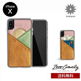 送料無料 メール便 iPhoneX ZERO GRAVITY PEAK WALLET スマホケース アイフォンテン_アイフォンX スリム シングル ケース おしゃれ 人気 かわいい 大人 女子 カード 収納 個性的 ゼログラビティ tempoo