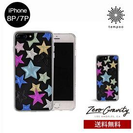送料無料 メール便 iPhone8P/7P ZERO GRAVITY STARSTRUCK スマホケース アイフォン8P アイフォン7P スリム シングル ケース おしゃれ 人気 クール 大人 女子 刺繍 星 セレブ モデル ゼログラビティ ブランド tempoo