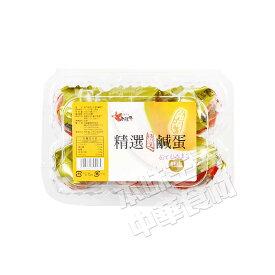 台湾老騾子特色塩鹹鴨蛋(ゆで塩卵・鹹蛋)中華料理人気商品・中華食材調味料・台湾風味名物