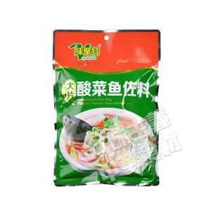 味聚特大片酸菜魚佐料 酸菜魚の素 魚スープの素 中華食材 中華調味料 300g