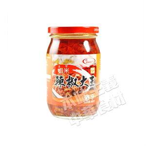 友盛蝦米辣椒大王(エビ入り激辛口唐辛子味噌)410g 中華食材調味料・中華料理人気商品・台湾名物・酒の肴