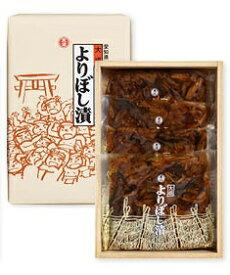 【 愛知県WEB物産展 30%OFF クーポン 対象商品 】【贈答用箱入】稲沢市名産よりぼし漬 国産の椎茸、昆布、なす、しその葉、ゴマの醤油漬け はりはり漬け 箱入り 100g×4袋