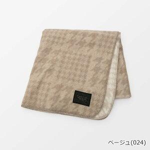 【SALE】コットンカシミヤグレンチェックマルチケット 日本製   テネリータ TENERITA
