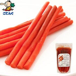 矢生姜(はじかみ)赤 甘酢漬け 中国産袋詰 個数約15本 バラ[0.5kg] 給食 業務用食材 の天狗缶詰 常温長期保存 和食や魚料理 焼き物のあしらいに