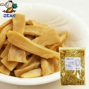 メンマ味付 缶詰 中国原料国内製造 1.2kg 内容量1,200g[給食用 業務用 食品 食材 天狗缶詰]ラーメントッピングに めんま