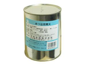 みつ豆用寒天シラップづけ2号缶外観【天狗缶詰】