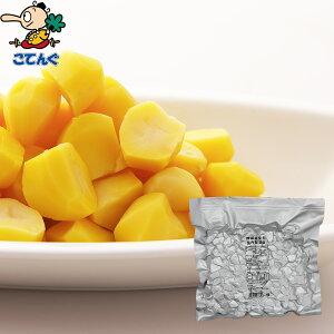 蒸し栗 韓国原料国内製造 四ツ割 袋詰 1000g バラ[1.2kg] 給食 業務用食材 の天狗缶詰 大容量 常温長期保存 栗ごはん 栗ぜんざいに