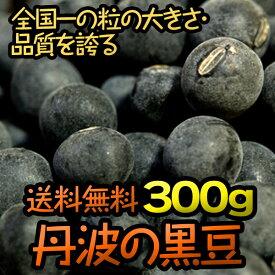 送料無料 丹波 黒豆 新豆 黒大豆 ギフト 令和元年産 丹波篠山産 兵庫県 300g
