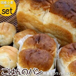 お試し 送料無料 米粉パン 市販 人気 国産小麦 食パン パン詰め合わせ