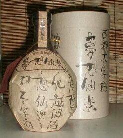 夢想仙楽 40度 720ml 麦焼酎原酒 「光酒造」[福岡県]