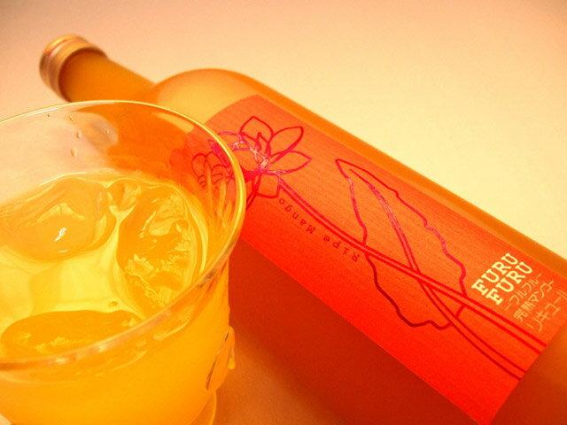 【送料無料】 完熟マンゴー梅酒  フルフル 9度 720ml×12本入り  送料無料 飲んだ人に感動を与えます!非常にジューシーで飲みやすい女性に人気のマンゴー梅酒  是非、一度お試しください【送料無料1225】