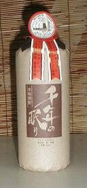 千年の眠り 40度 720ml 麦焼酎 原酒 「篠崎酒造」[福岡県]