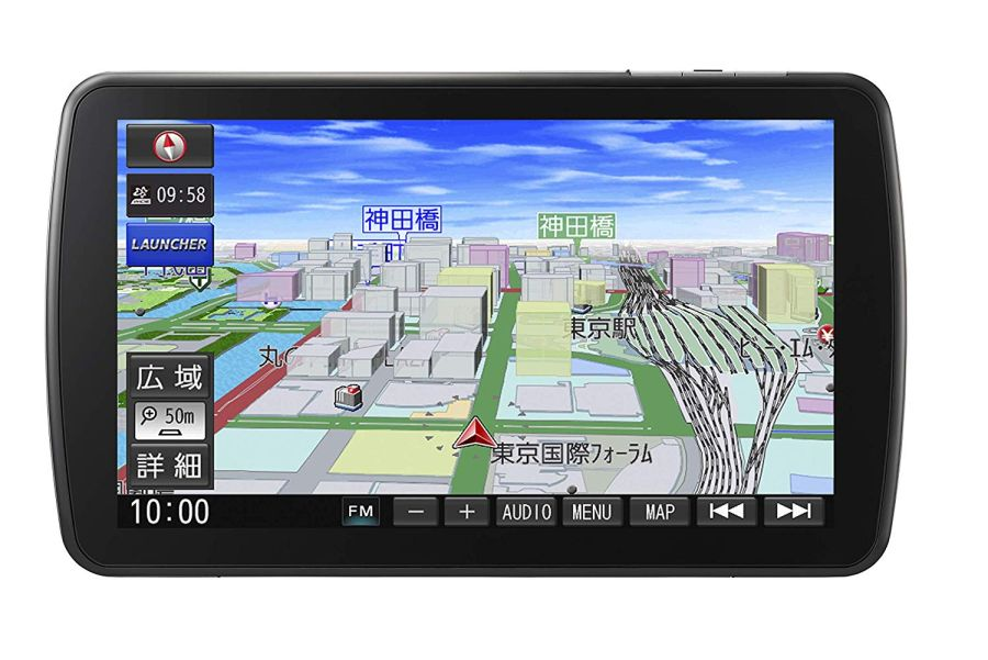 【在庫あり/あす楽】 CN-F1DVD パナソニック 9型 カーナビ ストラーダ 大画面 フルセグ Bluetooth Panasonic Strada