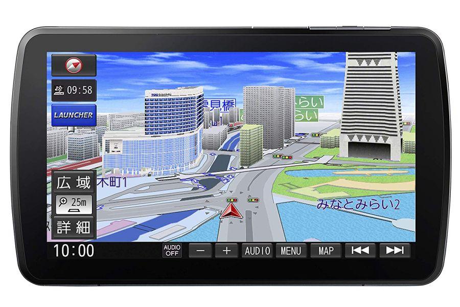 【在庫あり/あす楽】 CN-F1XVD パナソニック 9型 カーナビ ストラーダ ブルーレイ搭載 大画面 フルセグ Bluetooth Panasonic Strada
