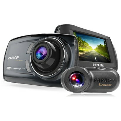 GSS36GS1-32G ドライブレコーダー 前後2カメラにSONY Exmorセンサー搭載 フルHD高画質オールインワン ドラレコ GoSafe S36GS1