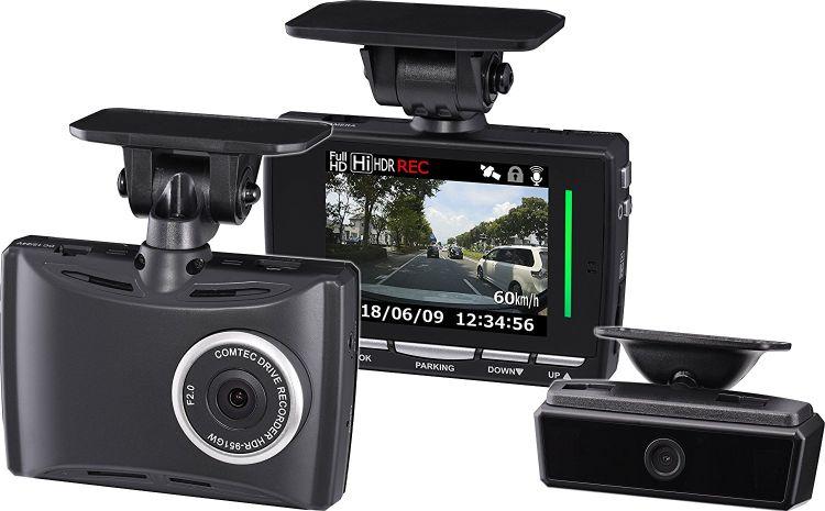 HDR-951GW コムテック ドライブレコーダー 2カメ 200万画素 Full HD 日本製&3年保証 常時 衝撃録画 GPS レーダー探知機連携 ドラレコ