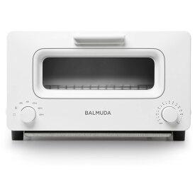 K01E-WS BALMUDA ホワイト The Toaster バルミューダ オーブントースター(1300W) スチーム