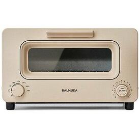 K05A-BG BALMUDA ベージュ The Toaster バルミューダ オーブントースター(1300W) スチーム