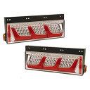 LEDRCL-24R/L 左右セット LEDリアコンビネーションランプ 3連タイプ(左右1セット) 小糸製作所 Koito