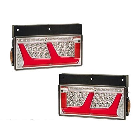 LEDRCL-24R2S/L2S 左右セット LEDリアコンビネーションランプ 2連シーケンシャルタイプ(左右1セット) 小糸製作所 Koito