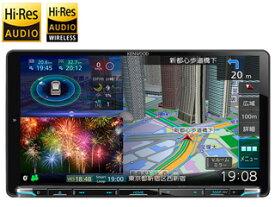 MDV-M907HDL ケンウッド 彩速ナビ 9インチHD 180mm 2DIN フルセグ 9型 ハイレゾ対応 Bluetooth DVD USB SD ナビ KENWOOD