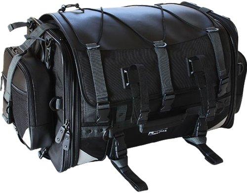 MFK-102 タナックスキャンピングシートバッグ2 モトフィズ ブラック 可変容量59-75? TANAX MOTOFIZZ
