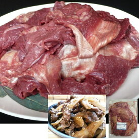 【送料無料】馬肉太スジ 1kg ×10P(10kg) 馬肉/業務用/
