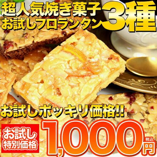 フロランタン 6個(3種×2個) 詰め合わせ 訳あり 高級 プードル オレンジ ショコラ 常温商品 焼き菓子