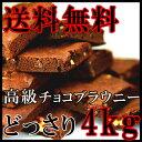 【訳あり】高級チョコブラウニー 個包装 業務用 4kg 常温商品 スイーツ ケータリング