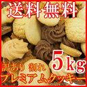 【送料無料】【訳あり】有名洋菓子店の高級プレミアム割れクッキーどっさり5kg(常温商品) 詰め合わせ 業務用