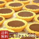 【送料無料】チョコタルトどっさり200個(常温商品) 個包装 チョコレート スイーツ ケーキ 人気 国産 業務用