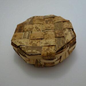 竹皮容器 TY-3H / サイズ約150×150×高さ45ミリ/ 天然竹皮を細くカットし編んで作った弁当容器/昔懐かしい雰囲気が特徴/八角形/和菓子、佃煮、漬物、雑貨用におすすめ