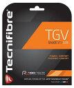 【12Mカット品】テクニファイバー TGV (1.25mm/1.30mm)硬式テニス マルチフィラメントガット(Tecnifibre TGV 1.25 1.30)