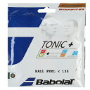 バボラ トニックプラス ボールフィール 硬式テニスガットナチュラルガット (Babolat Tonic+ Ball Feel)201022/201026