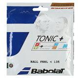 バボラトニックプラスボールフィール硬式テニスガットナチュラルガット(BabolatTonic+BallFeel)201022/201026
