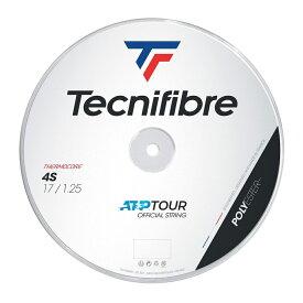テクニファイバー ブラックコード4S 200Mロール (120/125/130) 硬式テニス ポリエステル ガット(TECNIFIBRE BLACK CODE 4S 200M Reel)【2015年5月登録】