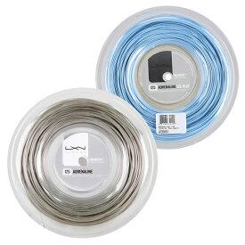 ルキシロン アドレナリン(1.20/1.25/1.30mm) 200Mロール 硬式テニス ポリエステル ガット(Luxilon Adrenaline 200m String Reel)