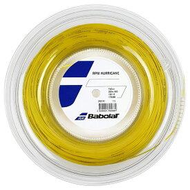 【NEW】バボラ RPM ハリケーン (旧 プロハリケーンツアー)(120/125/130/135) 200Mロール 硬式テニス ポリエステル ガット(Babolat RPM Hurricane)243141