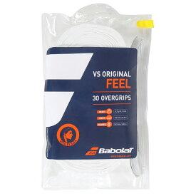 【30本入り】バボラ VS オリジナル (Babolat VS ORIGINAL 30 GRIPS) 【ホワイト】657003 テニス グリップテープ