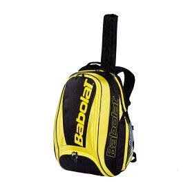 テニス 【ラケット収納可】2019 バボラ ピュアアエロ バックパック 753074-191 (2019 Babolat Pure Aero Backpack) 【2018年10月】(イエロー/ブラック)