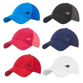 【テニスキャップ】バボラ ベーシック ロゴ キャップ 各色(Babolat Adult's Basic Logo Cap)