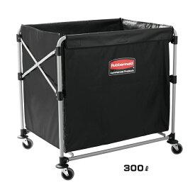【送料無料】Xカート 300L(ラバーメイド)[ゴミ回収 ごみ箱 商業施設 激安]【代引き決済不可】