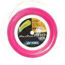 Yonex Poly Tour Pro Pink ヨネックス ポリツアープロ ピンク200mロールガット、1.25mm