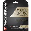 テクニファイバー エックスワン 赤 Tecnifibre X-One Biphase 12mパッケージ品(1.24mm,1.30mm)