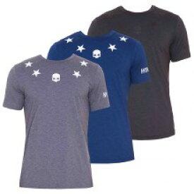 【2019春夏】ハイドロゲン テック スター Tシャツ(黒/ブルー/グレー) HYDROGEN TECH STAR T-SHIRT