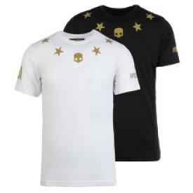 ※数量限定入荷【2019USオープンモデル】ハイドロゲン テック スター USオープンリミテッド Tシャツ(黒/白) HYDROGEN