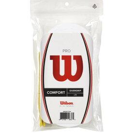 Wilson Pro Overgrip 30pack (White)ウィルソン プロ オーバーグリップ 30本入(白)