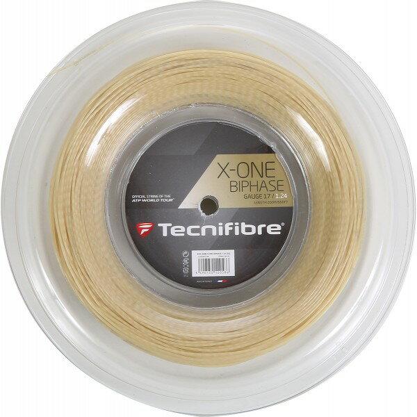 テクニファイバー エックスワン バイフェイズTecnifibre X-One Biphase 200mロール/各ゲージ